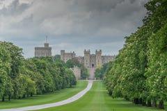 Windsor Castle, het UK stock fotografie