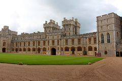 Windsor Castle, Inghilterra Fotografie Stock Libere da Diritti