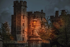 Windsor castle night scene Stock Photos