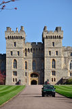 Windsor Castle. The official Residence of Her Majesty The Queen is the oldest occupied castle in the world Stock Photo