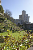 Windsor Castle. With park view Stock Photo