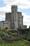 Windsor Castle. Is a royal residence at Windsor in the English county of Berkshire. The castle is famous for not only it's architecture, which is captured in Royalty Free Stock Photography