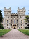 Windsor Castle. Seen at a distance from the Long Walk Royalty Free Stock Images