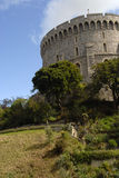 Windsor Castle - a tower Royalty Free Stock Photos