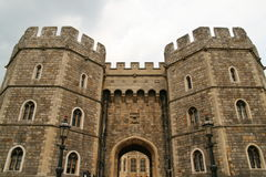 Windsor Castle towers Stock Photos