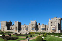 Windsor Castle UK. Windsor Castle in the United Kingdom, the residence of HRH Queen Elizabeth II Royalty Free Stock Photography