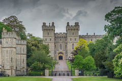 Windsor Castle, UK. Windsor Castle in the UK on a cloudy day Stock Images