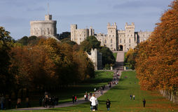 Windsor Castle, United Kingdom. Windsor Castle, in Windsor in the English county of Berkshire, is the largest inhabited castle in the world and one of the royalty free stock photos