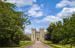 Windsor Castle. View of the entrance to Windsor Castle in Berkshire, England Royalty Free Stock Image