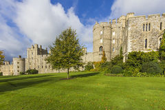 Windsor Castle. View from Garden near London UK Stock Images