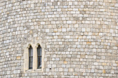 Windsor Castle Window Royalty Free Stock Photos