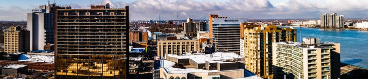 Free Windsor City, Panorama City View, Ontario, Canada Royalty Free Stock Photo - 133308625