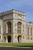 Windsor Couryard. Windsor Castle , the oldest and largest occupied Castle in the World. The official residence of Her Majext Queen Elizabeth II Royalty Free Stock Image