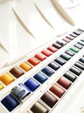 Windsor en Newton Watercolors Stock Foto