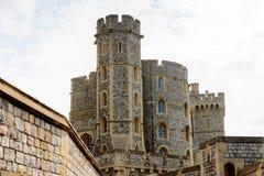 Windsor, England, United Kingdom. WINDSOR, ENGLAND - JULY 21, 2016: Windsor Castle, Berkshire, England. Official Residence of Her Majesty The Queen royalty free stock images