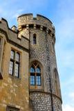 Windsor, England, United Kingdom. WINDSOR, ENGLAND - JULY 21, 2016: State apartment of the Windsor Castle, Berkshire, England. Official Residence of Her Majesty stock images