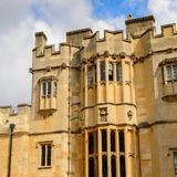 Windsor, England, United Kingdom. WINDSOR, ENGLAND - JULY 21, 2016: State apartment of the Windsor Castle, Berkshire, England. Official Residence of Her Majesty royalty free stock photo