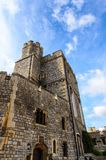 Windsor, England, United Kingdom. WINDSOR, ENGLAND - JULY 21, 2016: Windsor Castle, Berkshire, England. Official Residence of Her Majesty The Queen royalty free stock photo