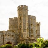 Windsor, England, United Kingdom. WINDSOR, ENGLAND - JULY 21, 2016: Windsor Castle, Berkshire, England. Official Residence of Her Majesty The Queen stock photography