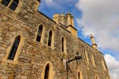 Windsor, England, United Kingdom. WINDSOR, ENGLAND - JULY 21, 2016: Windsor Castle, Berkshire, England. Official Residence of Her Majesty The Queen stock photo