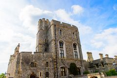 Windsor, England, United Kingdom. WINDSOR, ENGLAND - JULY 21, 2016: Part of the Windsor Castle, Berkshire, England. Official Residence of Her Majesty The Queen royalty free stock photography