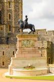Windsor, England, United Kingdom. WINDSOR, ENGLAND - JULY 21, 2016: South Wing of the Upper Ward, Windsor Castle, Berkshire, England. Official Residence of Her stock photography