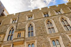 Windsor, England, United Kingdom. WINDSOR, ENGLAND - JULY 21, 2016: State apartment of the Windsor Castle, Berkshire, England. Official Residence of Her Majesty royalty free stock images