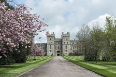 Windsor entrace, United Kingdom. Windsor Castle originally built by William The Conqueror Stock Photography