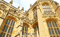 Windsor Förenade kungariket - Augusti 29, 2017: Medeltida Windsor Castle Windsor Castle är platsen av bröllop för prinsen Harry i fotografering för bildbyråer