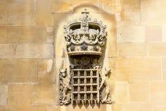 Windsor, het Verenigd Koninkrijk - 29 Augustus, 2017: De mening van Middeleeuwse Windsor Castle Windsor Castle is een koninklijke Stock Foto's