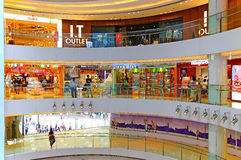 Windsor house shopping mall hong kong Stock Photography
