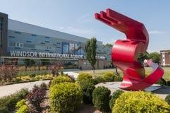 Windsor internationellt vatten- och utbildningscentrum Royaltyfri Fotografi