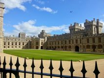 Windsor kasztel Zdjęcia Royalty Free