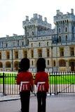 Windsor kasztelu irlandczyka strażnicy Obraz Royalty Free