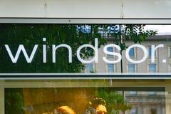 WINDSOR Logo Photos libres de droits