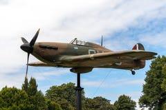 WINDSOR, MAIDENHEAD & WINDSOR/UK - JULY 22 : Hawker Hurricane on royalty free stock images