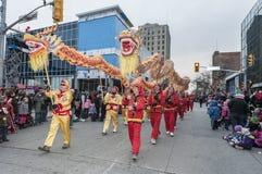 Windsor Ontario Canada bożych narodzeń parada Zdjęcia Royalty Free