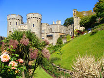 Windsor Palace. Windsor Castle and its gardens, England Stock Image