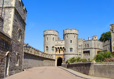 Windsor Palace. Norman Gate at Windsor Castle Royalty Free Stock Photo