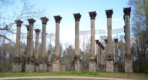 Windsor Ruins Royalty Free Stock Photography