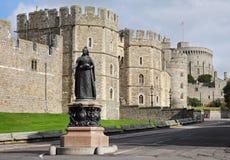 Windsor Schloss in England lizenzfreie stockfotos
