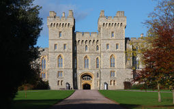 Windsor Schloss in England Stockfotos