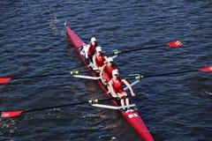 Windsor School races in the Head of Charles Regatta Stock Photo