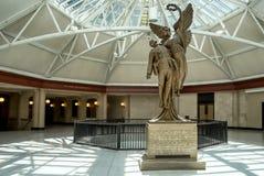 Windsor Station staty (Montreal) Arkivbild