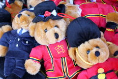 Souvenir Teddy Bears Stock Photography
