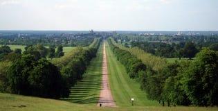 Windsor View Arkivfoto
