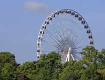 Windsor Wheel. The Windsor Wheel, a temporary structure for the next few months Stock Image