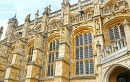 Windsor Zjednoczone Królestwo, Aug, - 29, 2017: Średniowieczny Windsor kasztel Windsor kasztel jest miejscem książe Harry ślub w  obrazy royalty free