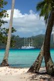 Windstar塔希提岛 免版税图库摄影