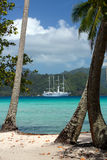Windstar Tahiti Photographie stock libre de droits